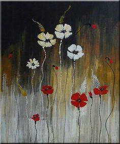 ORIGINAL-ABSTRACT-PAINTING-WITH-FLOWERS-SOLD.jpg (377×453)