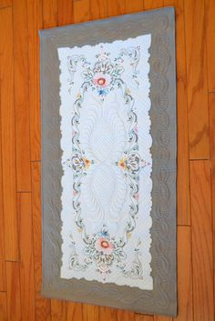 The Quilting Professor: QUILTING WITH VINTAGE LINENS AND LACES