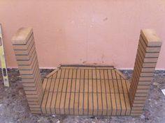 Reface Brick Fireplace, Backyard Fireplace, Home Fireplace, Fireplaces, Metal Working Tools, Rocket Stoves, Barbacoa, Ideas Para, Diy Home Decor