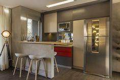 Just Married: Cozinhas Moderno por Studiodwg Arquitetura e Interiores Ltda.