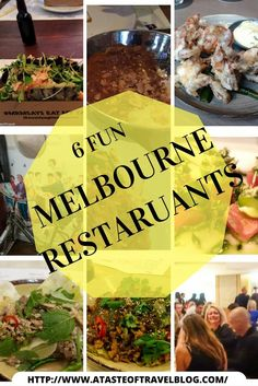 #Melbourne is often considered the restaurant capital of #Australia though I'm sure that many #Sydneysiders would argue this! #Melbourne #Restaurants