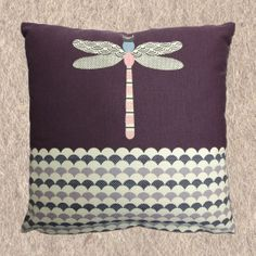 Quite a different cushion to the ones we one but very pretty :) PONDLIFE - CUSHION - DRAGONFLY