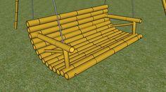 bamboo porch swing - 3D Warehouse