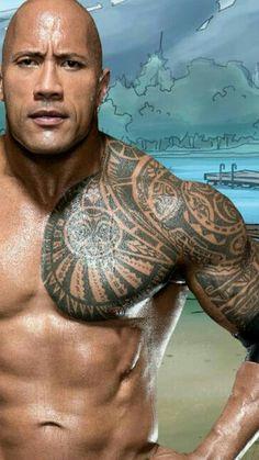 I Love you Dwayne Johnson Rock Johnson, The Rock Dwayne Johnson, Dwayne The Rock, Tatuagem The Rock, The Rok, Rock Tattoo, Samoan Tribal Tattoos, Tribal Warrior, Geniale Tattoos