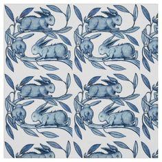 William De Morgan Rabbits Textiles