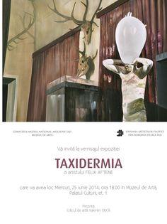 TAXIDERMIA, expozitie a artistului Felix Aftene