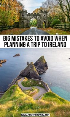 ireland travel If you are planning a trip to Ireland, you are going to want to avoid these huge mistakes! Here's what you should NOT do when planning your trip to Ireland! Ireland Places To Visit, Cool Places To Visit, Places To Travel, Europe Places, Travel Destinations, Kids Places, Backpacking Ireland, Ireland Travel Guide, Ireland With Kids
