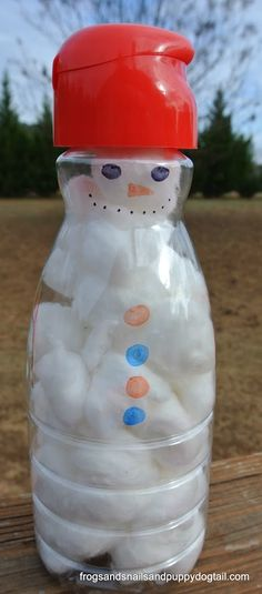 Fine Motor Skills Build A Snowman by FSPDT