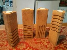 5th Element candle holders - Think Geek