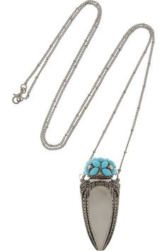 { perfume bottle necklace }