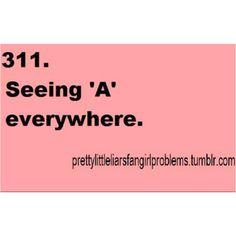 Sometimes, I am A.