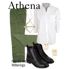 Athena  army outfit Percy Jackson series