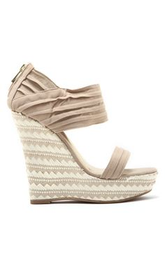 Tribal Wedge with Ankle Cuff