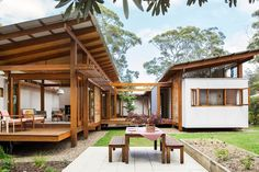 """""""Kids love to interact with this house – it captures their imagination. It feels a bit like a cubbyhouse and has a playful nature,"""" says Anthony."""