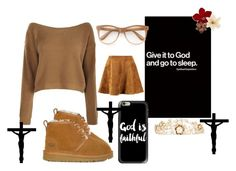 """Give It To God! rtd"" by lifeissweet170000 ❤ liked on Polyvore featuring UGG, Rosantica, Wildfox and Casetify"
