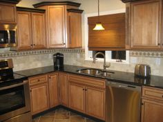 ranch kitchen designs | Rags to Riches, Freshly renovated kitchen in 2010. Raised Ranch built ...