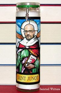 Saint Junot Diaz candle.