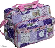 Checkout this latest Clothes Covers_0-500 Product Name: *Stylish Baby Diaper Bag* Material: Rexine Size: Free Size Description: It has 1 piece of Baby Diaper Bag with 2 Bottle Warmers Work: Printed Country of Origin: India Easy Returns Available In Case Of Any Issue   Catalog Rating: ★4.2 (1011)  Catalog Name: Pretty Baby Diaper Bags Vol 1 CatalogID_110818 C131-SC1628 Code: 273-940086-078