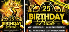 Birthday Bash – Premium Flyer Template http://www.exclusiveflyer.com/premium-templates/birthday-bash-premium-flyer-template/