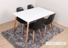 ALPHA White Table  Market Price:$299 ifurniture Price:$189 (GST included) You Save:$110
