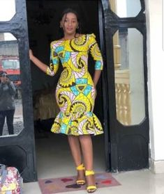 4380ca878c corporate ankara styles African Fashion Dresses