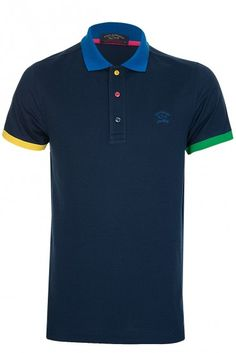 Paul & Shark Contrast Polo » Shop Men » Men's Designer Clothing ...