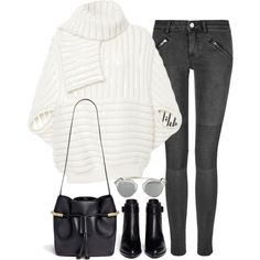Untitled#3021 by fashionnfacts on Polyvore featuring Johanna Ortiz, BLK DNM, Alexander Wang, Chloé and Christian Dior