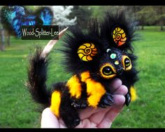 --SOLD--Poseable Baby Bumble Dragon! by Wood-Splitter-Lee.deviantart.com on @deviantART
