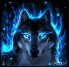 Fantasy art - Page 55 - Animal Spirit Guides - Galleries Anime Wolf, Artwork Lobo, Wolf Artwork, Animal Spirit Guides, Wolf Spirit Animal, Fantasy Kunst, Fantasy Art, Dark Fantasy, Fantasy Creatures