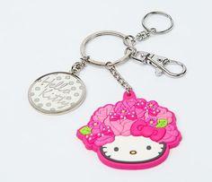 Hello Kitty Key Ring: Bloom