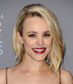 "Rachel McAdams' ""Just Ran Her Hands Through Her Hair"" Texture"