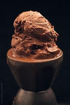 Delicious Chocolate Ice-Cream by Lumina