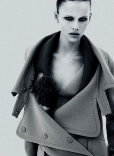 Ilda Lindquist photographed by Mert & Marcus for Miu Miu Fall/Winter 2009 Ad Campaign.