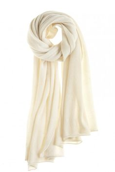 Snow Cushy Cashmere Scarf @Kristen - Storefront Life Kyslinger St. Barth