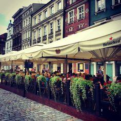 Poznań / beer garden