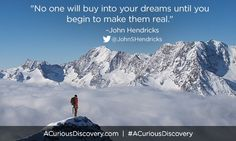 From A CURIOUS DISCOVERY by John S. Hendricks, Founder & Executive Chairman of Discovery Communications. Learn more at ACuriousDiscovery.com. #ACuriousDiscovery #HarperBusiness