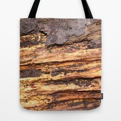 """Old pine tree Tote Bag by gunadesign - $22.00 Tote Bags are hand sewn in America using durable, yet lightweight, poly poplin fabric. All seams and stress points are double stitched for durability. They are washable, feature original artwork on both sides and a sturdy 1"""" wide cotton webbing strap for comfortably carrying over your shoulder."""
