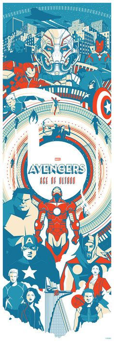 """The Avengers: Age of Ultron"" by Marinko Milosevski"