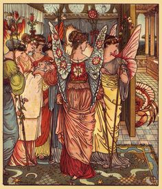 Walter Crane, The Hind in the Wood