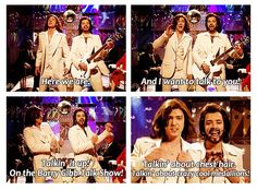 Bee Gees SNL Skit Justin Timberlake & Jimmy Fallon...funniest. thing. ever.
