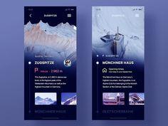 3D Mountain Explorer App by Rustem Sirazetdinov
