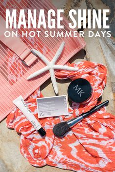 Shine-busting products to help beat the summer heat! Beauty Blotters® Oil-Absorbing Tissues instantly absorb excess oil without disturbing makeup leaving a soft, matte finish. | Mary Kay