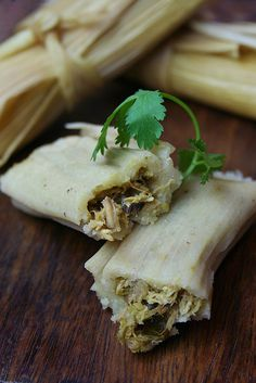 Tamales Verde. I am not a big Mexican food fan. That being said, I will eat Tamales by the dozen if allowed. I love 'em.