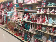 Hobby Lobby Red And Turquoise Christmas 2014