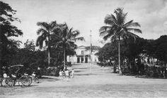 Plaza y Casa Alcaldia de Caguas 1918
