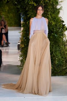 Delpozo Spring 2014 |= (THE GOWN BOUTIQUE). Love these colors together
