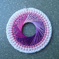 Very cute.  I think you could use your imagination to do other projects with it besides necklaces.  So loved spirograph when I was a little girl...   :)