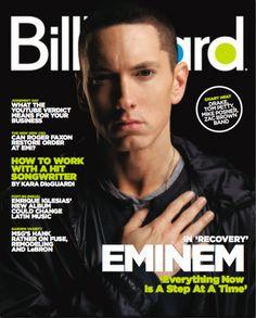Eminem Billboard Cover