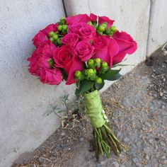 rose and hypericum bouquet - Google Search