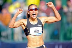 Lolo Jones. Fit, fab and Olympian.